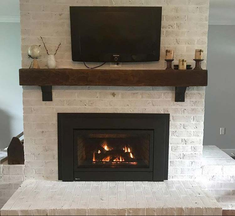 Pictured Regency E33 Gas Fireplace Insert Photo Credit Bunting S Stove Inc