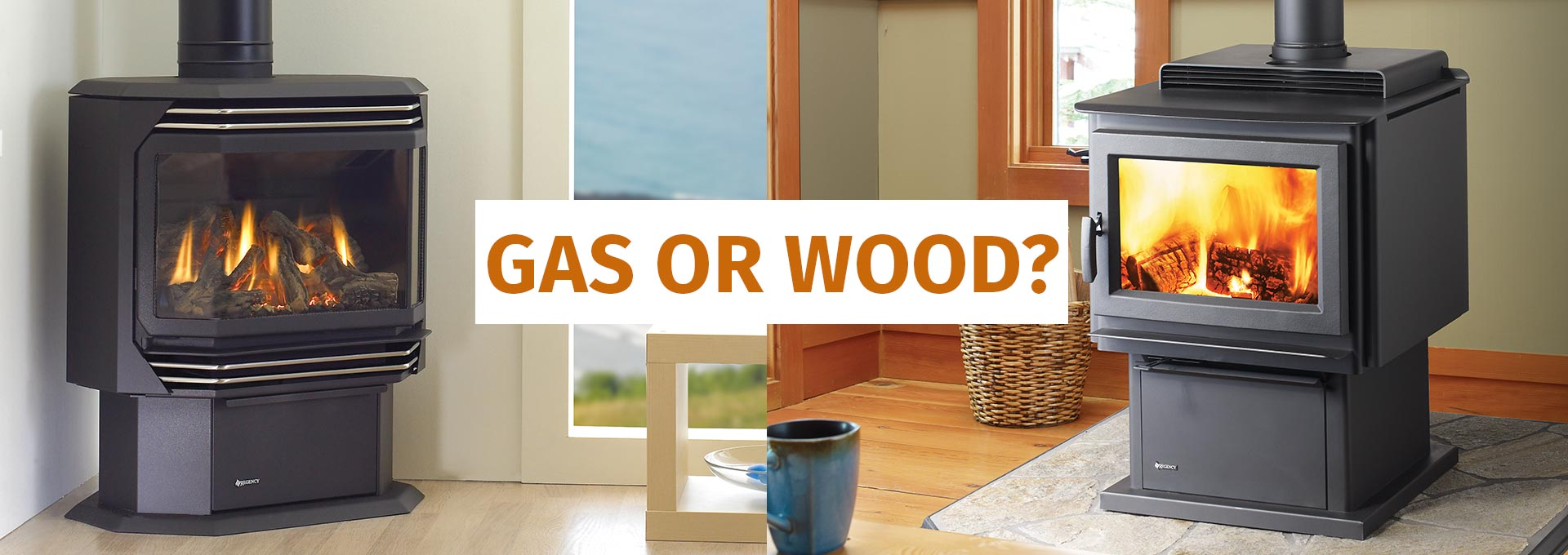 Wood Stove or Gas Stove – How to Choose?