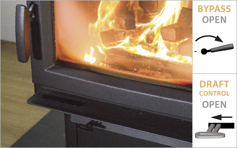 best practices for starting a wood fire