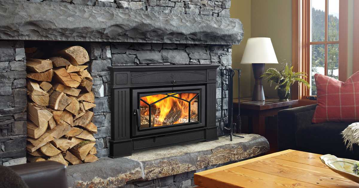 Wood Burning Fireplace Insert Ers