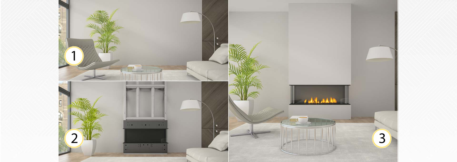 san francisco bay 40 city series designer gas fireplaces