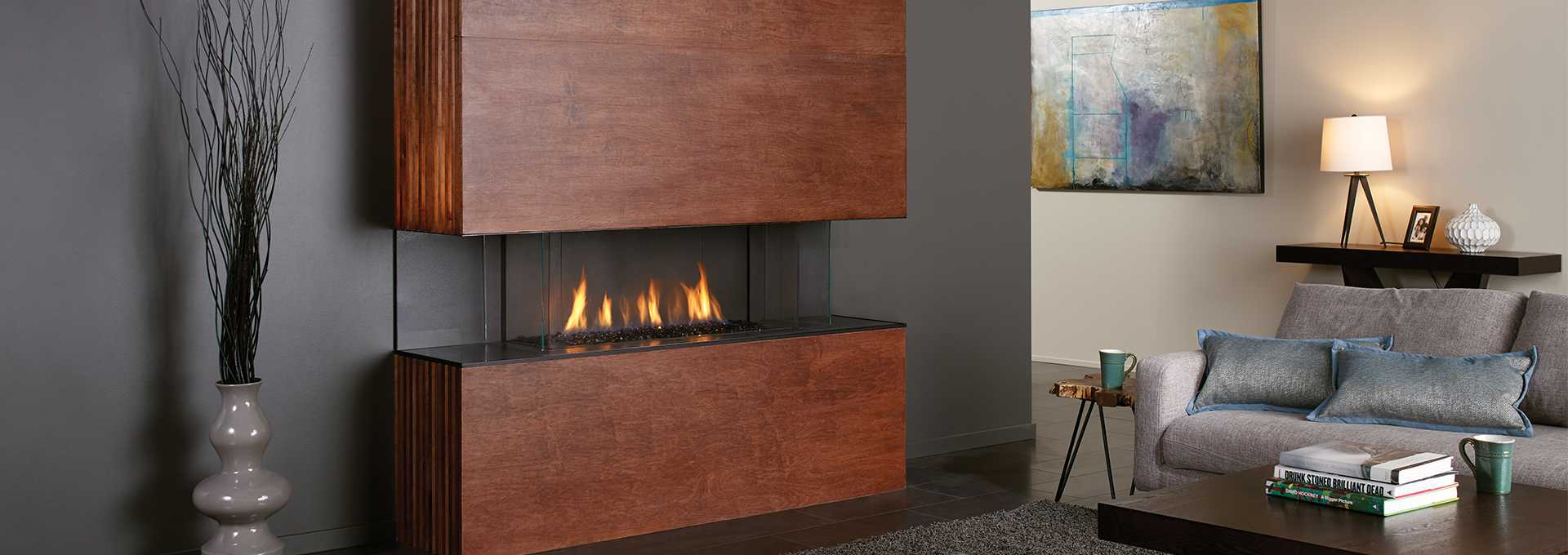 Revolutionary New City Series Fireplaces Make It Possible To Finish Your Fireplace In Flammable Materials Like Wallpaper Wood