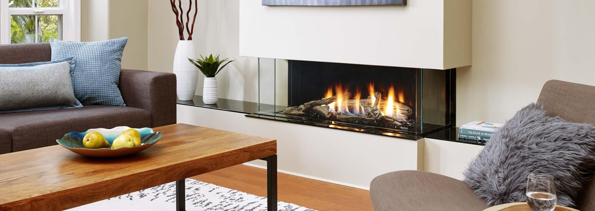 San Francisco Bay 40 Modern Gas Fireplaces Regency