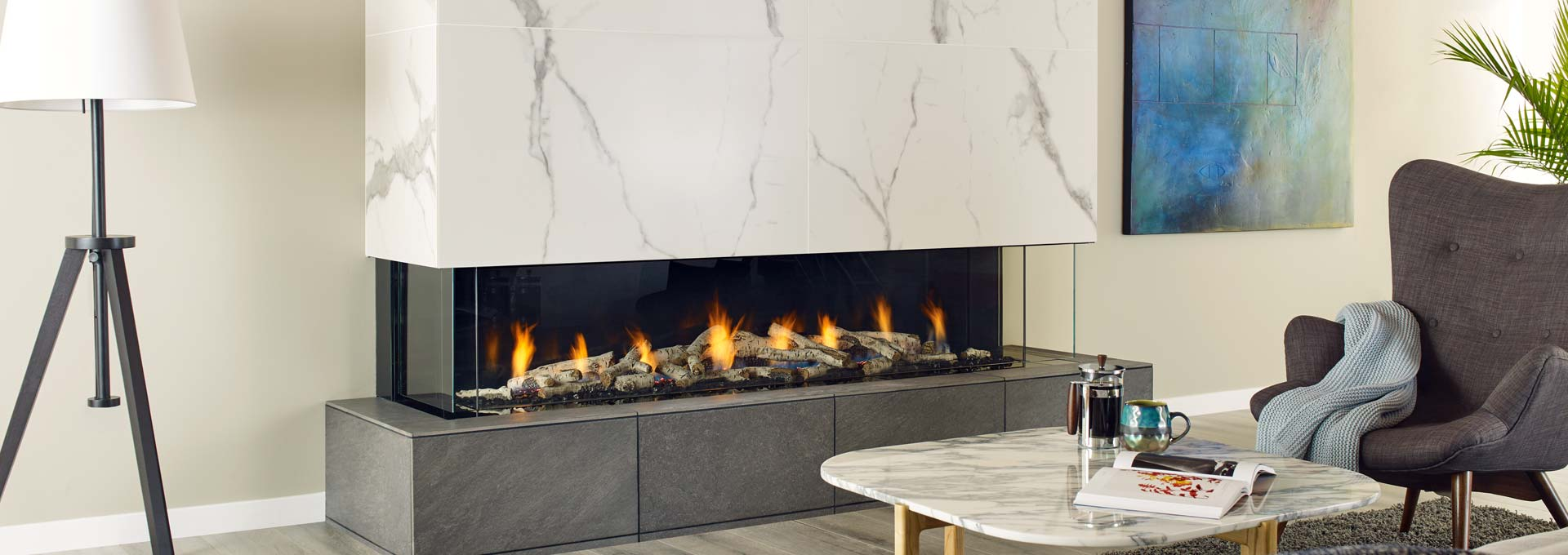 Trendiest Fireplaces of 2018 & 2019