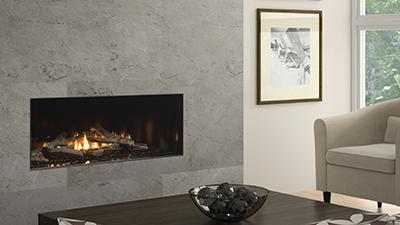 CV40E frameless gas fireplace