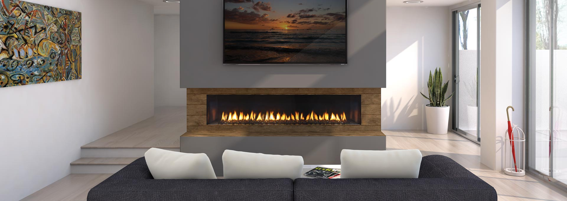 Designer Gas Fireplaces City Series By Regency