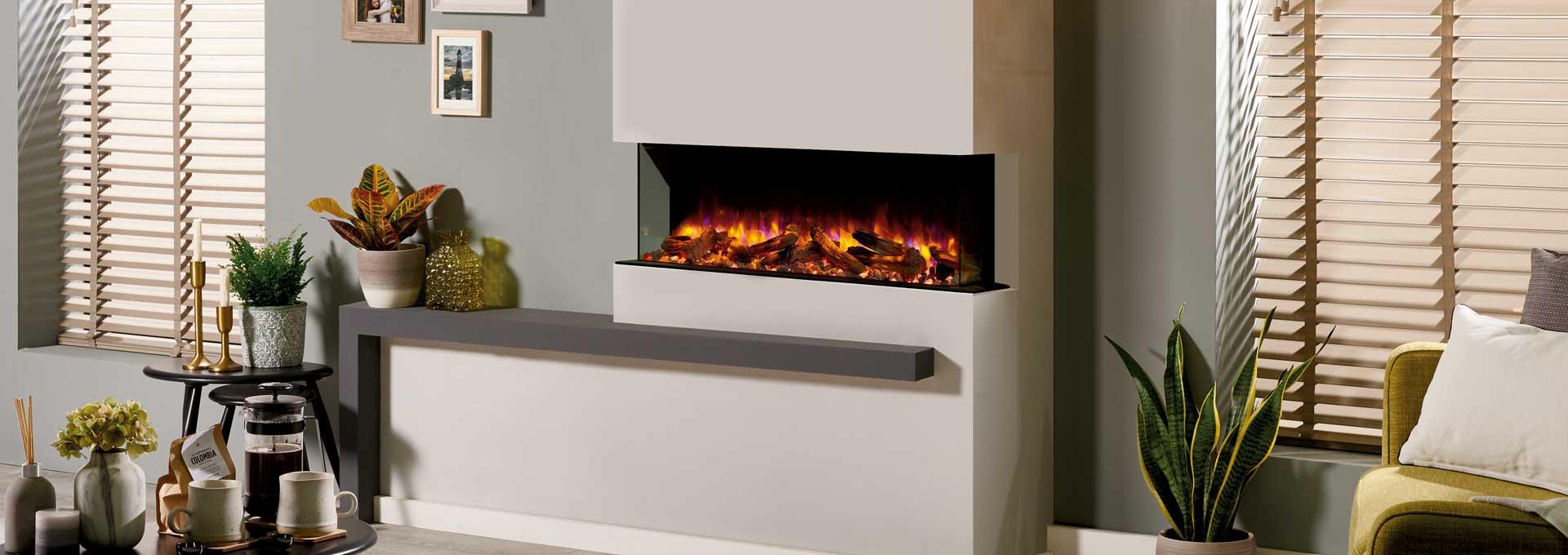 Skope E110 Multi Sided Electric Fireplace Regency Fireplace Products