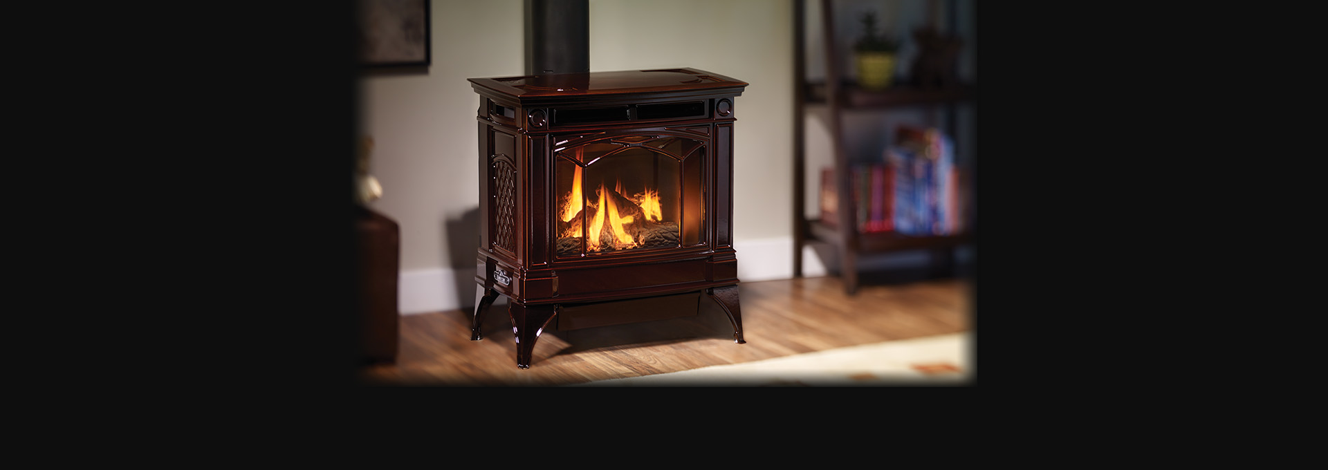 Hampton H35 Large Cast Iron Gas Stove Regency Fireplace Products