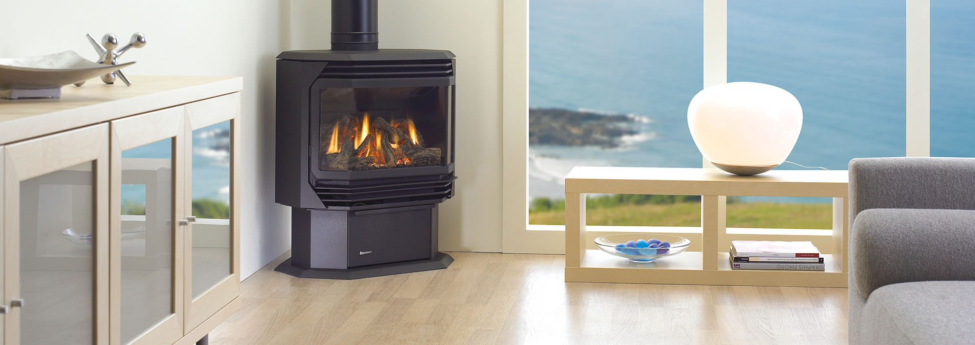 Ultimate U38 Modern Wrap Around Gas Stove Regency