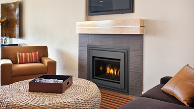 Designed to meet the demands of homeowners who want to replace an older open gas fireplace with today's clean face design and modern efficiency. *Available in Canada only.