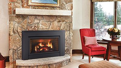 Turn your existing drafty masonry fireplace into a high efficiency heater with the E33.