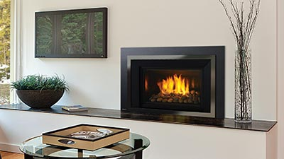 Provides reliable, high efficiency heat with exceptional styling.
