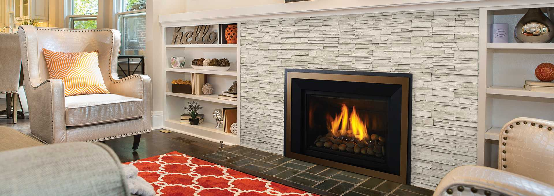 Large Gas Fireplace Insert Regency Horizon Hri6e