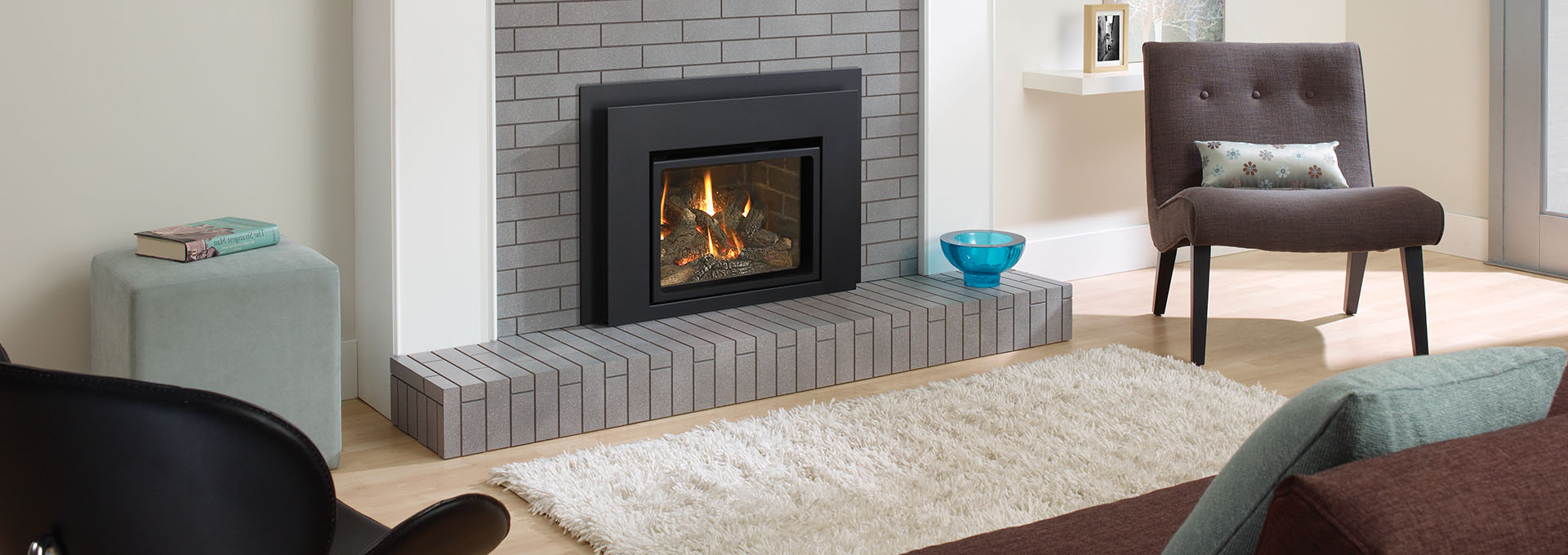 L234 Small Gas Fireplace Insert Regency
