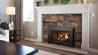 Heat medium sized living areas in a wide range of styles with this fireplace insert.