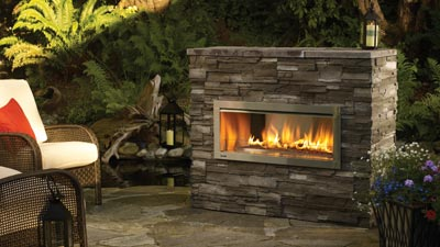 Superieur Regency® Horizon® HZO42 Outdoor Gas Fireplace