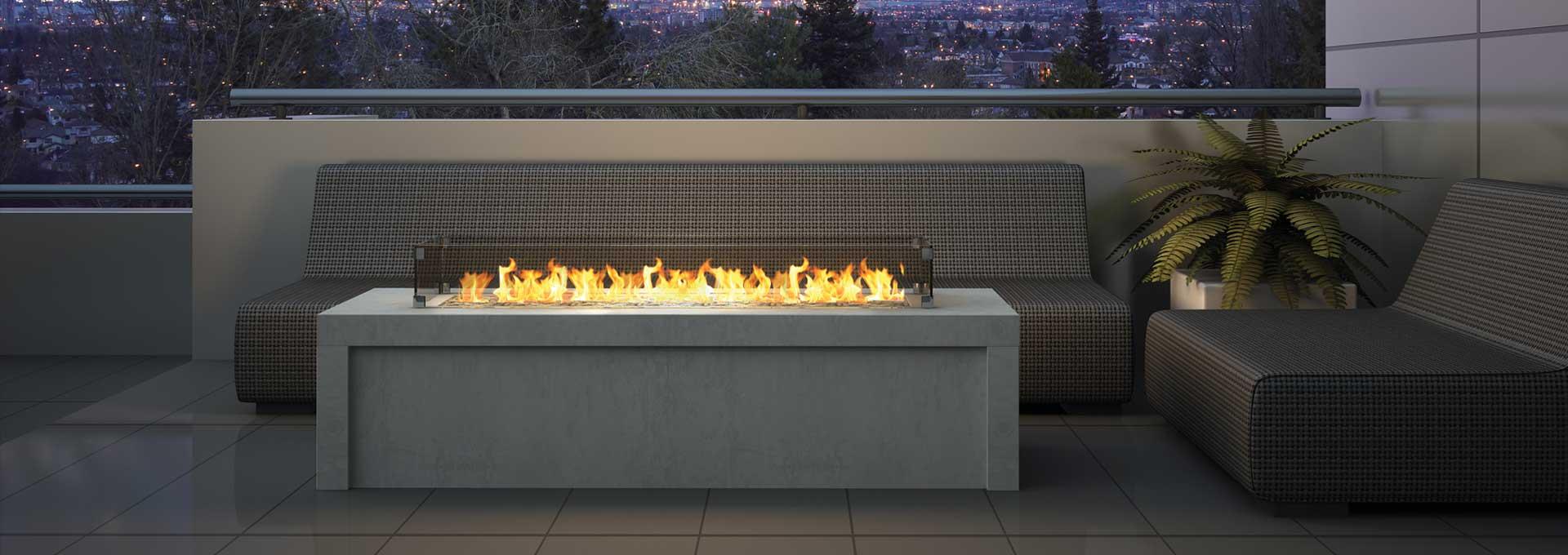 outdoor gas fireplace burner plateau pto30 regency fireplace products rh regency fire com outside fireplace burners outdoor gas fireplace burners