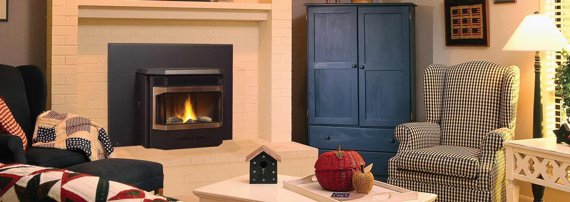 greenfire gfi55 pellet insert pellet inserts regency fireplace