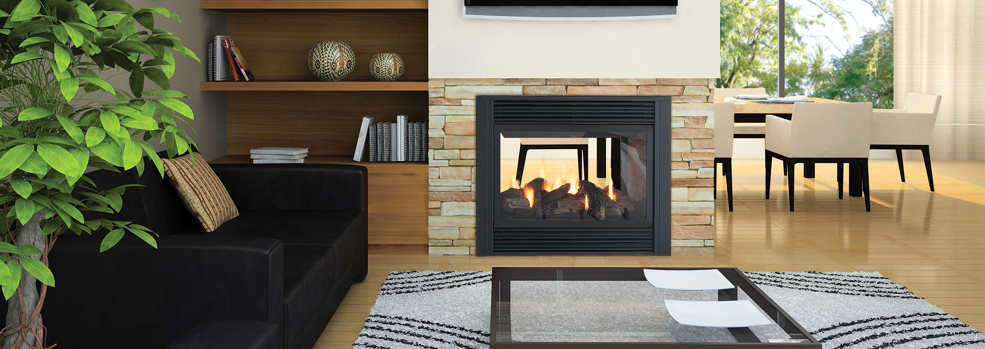 panorama p121 see through gas fireplace gas fireplaces regency
