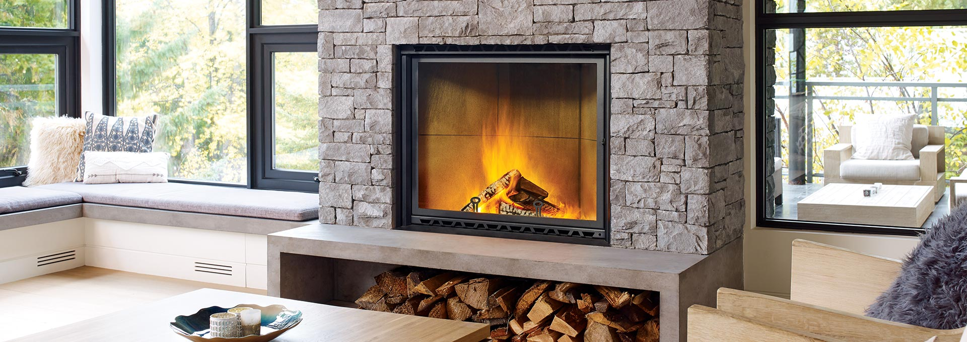 Types of Wood Burning Fireplaces