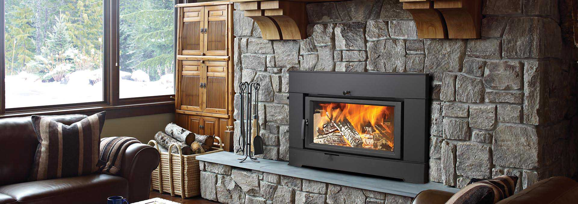 Top 8 fireplace insert trends of 2017 for Modern wood burning insert