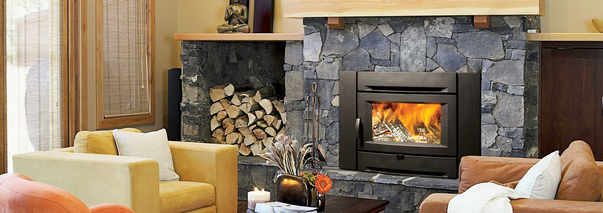 Fall Fireplace Maintenance & Decorating Tips