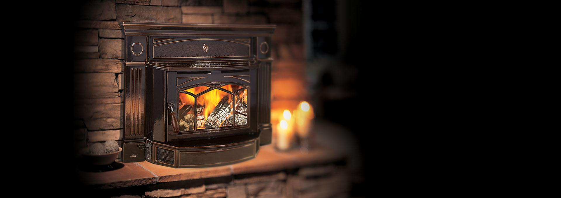 hi300 wood insert hampton cast iron stoves u0026 fireplaces