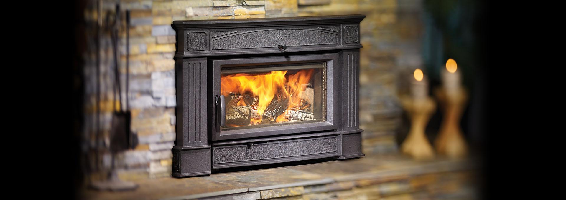 hi400 hampton large hybrid catalytic wood insert wood fireplace