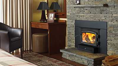 Perfect for that drafty fireplace that isn't quite big enough for a standard insert.
