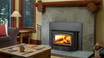 Wood Inserts keep the heat in your home and