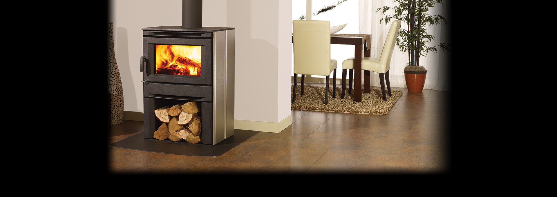 cs1200 modern wood stove wood stoves regency fireplace products
