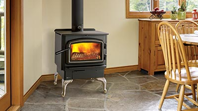 The Regency Cascades F2500 wood stove is the perfect stove for most spaces.