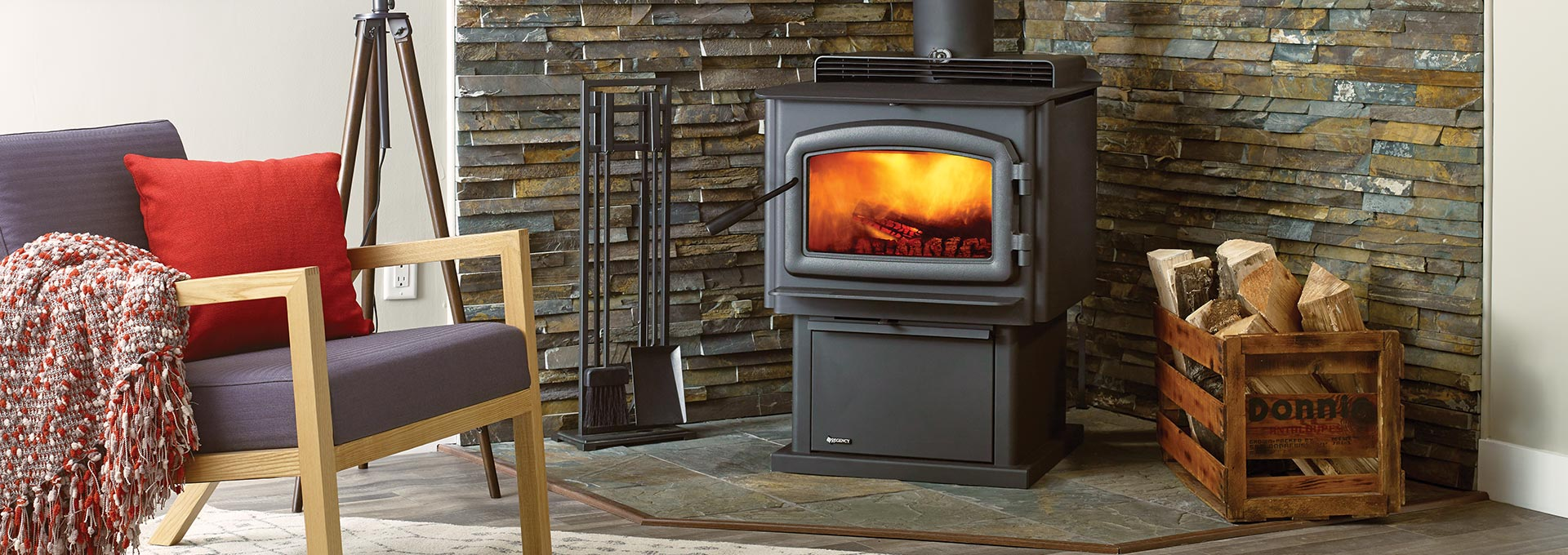 F2500 Hybrid Catalytic Wood Stoves High Efficiency Wood Stoves By Regency