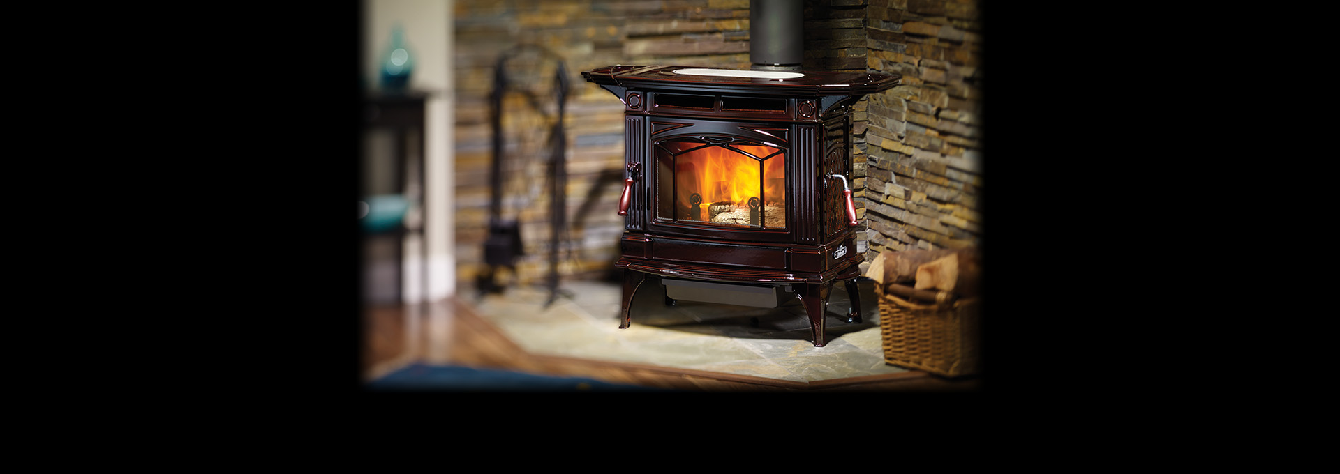H300 Cast Iron Wood Stove Regency
