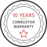 10 Year Combustor Warranty