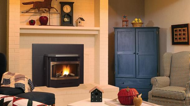 encastrables granules produits de foyer regency. Black Bedroom Furniture Sets. Home Design Ideas