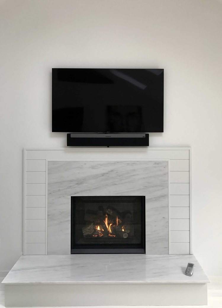 Regency Bellavista B36xtce Gas Fireplace Tv Custom Surround